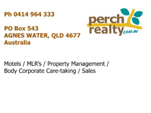 Real Estate Agent Agnes Water 1770