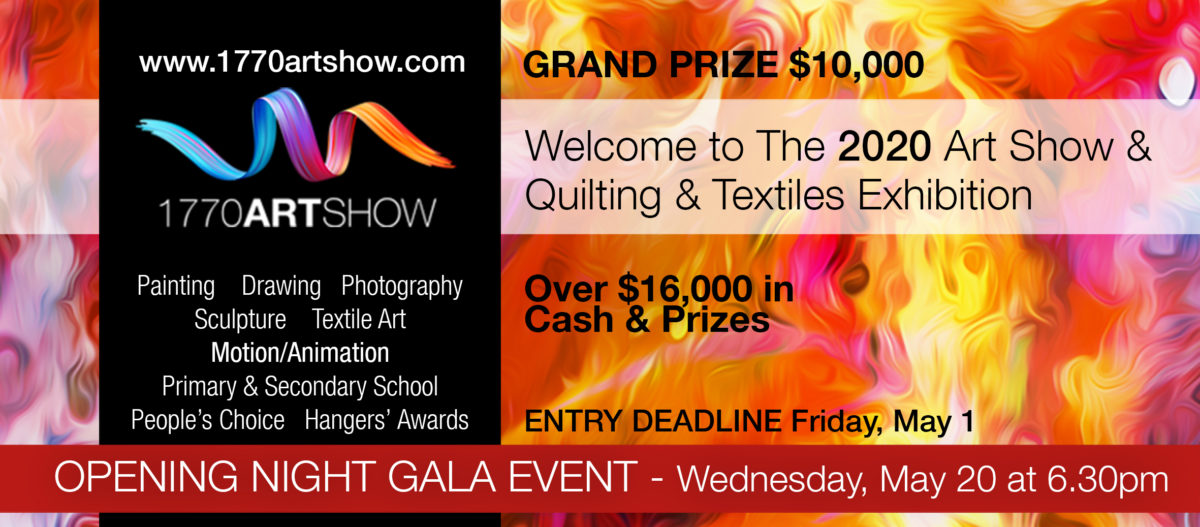 Proud sponsor of 1770 Art Show – 2021